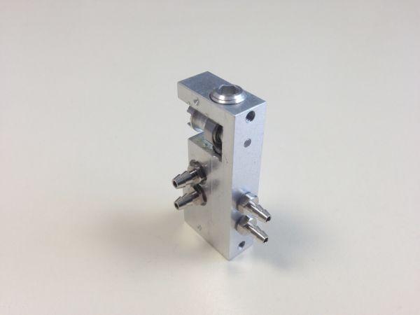 Micro-Hydraulik-Steuerventil 1-fach, bis 10bar 43,5x19x9mm