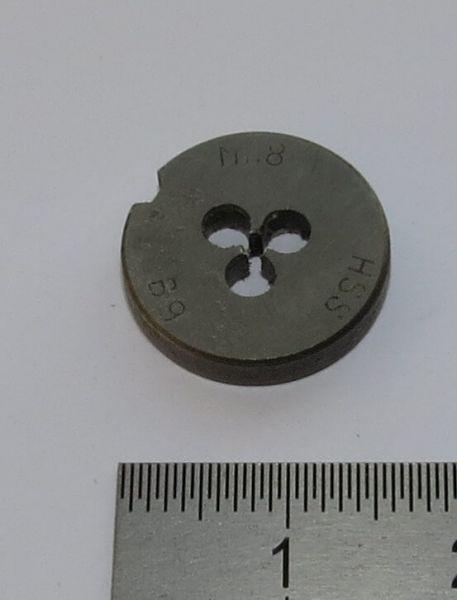 1x Schneideisen DIN 223B HSS M1,8. 16mm Außendurchmesser