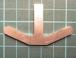 Anlenkhebel mit Steg, Alu 3mm stark, passend zu Rüst-Achsen