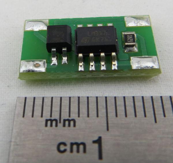 5-24V, 20mA için sabit akım kaynağı. 5-24V Eşitliğinde çalışma için