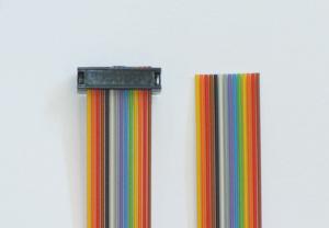 USM-RC-10 için şerit kablo 2 poli