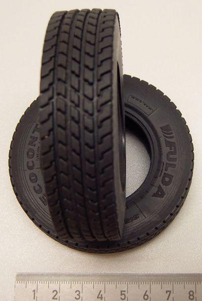 Tamiya, içi boş, TAM ölçek 1mm için 82 sürücü lastikleri