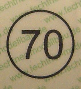 Hız işareti beyaz 12,5mm çapı