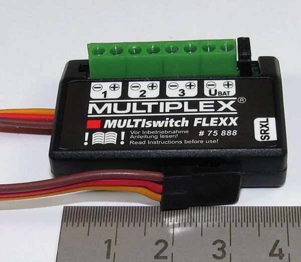 1 MultiSwitch FLEXX With 3 Outputs To Operate On A