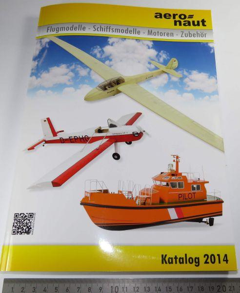 1 Modellbau RC-Katalog, AERONAUT,farbig gedruckt, aktuelle