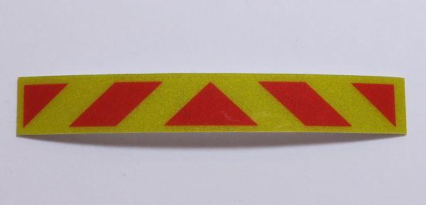 ECE70-naklejka oznakowanie żółte odblaskowe tylne