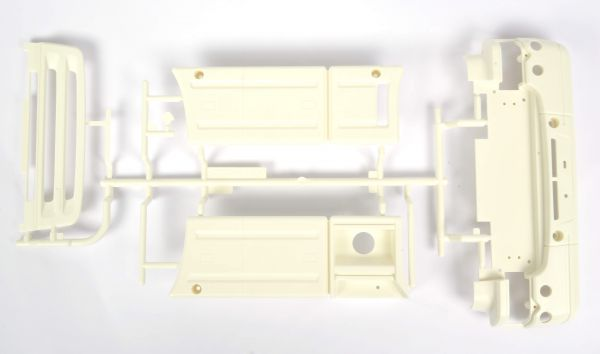 1 molding parts kit H-parts, white. For Scania R620