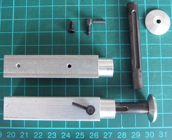 Römork destekleri (Carson römork) 1 çifti, metal