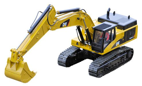 Komplettbausatz Hydraulikbagger CAT 345D, Wedico