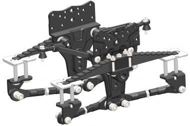 montaje suspendido, equipo, unidad de escala compatible con Tami