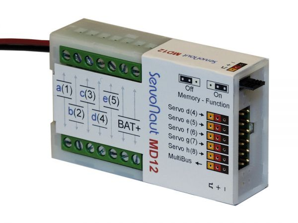 Servonaut Multibus Decoder MD12. Multiswitch decoder