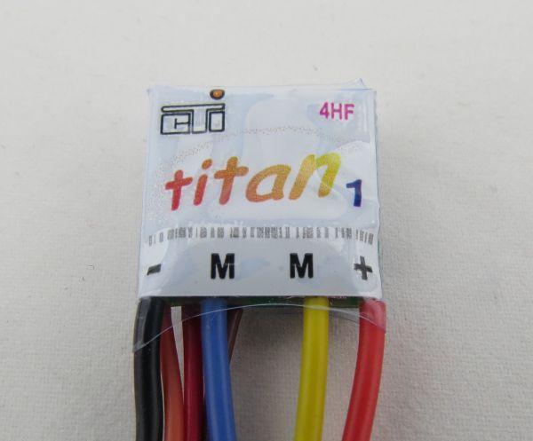 Fahrregler THOR 4-HF Titan1/6, für 12V. 100% vorwärts, 100%