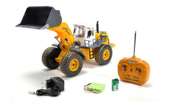 1:14 CARSON Radlader Clean 100% RTR 27 MHz Inkl LED Einhe
