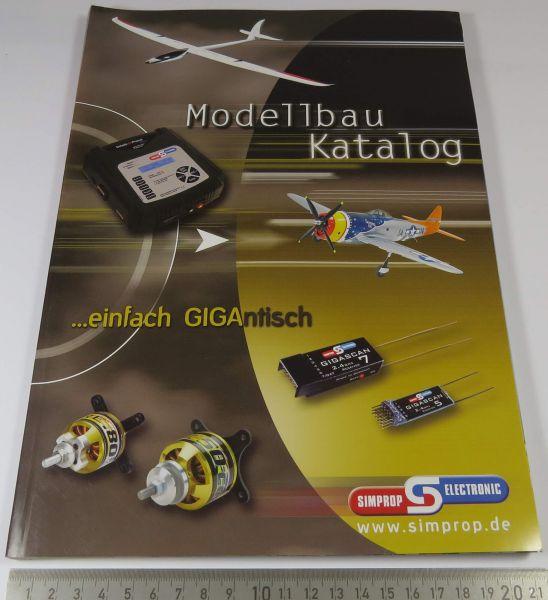1 Modellbau RC-Katalog, SIMPROP, farbig gedruckt, aktuelle