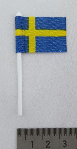 1x bayrağı İsveç, Bayrağın ile kumaştan