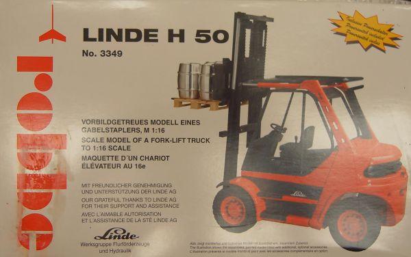 Gabelstapler Linde H50 Bausatz robbe 3349, M=1:16 max