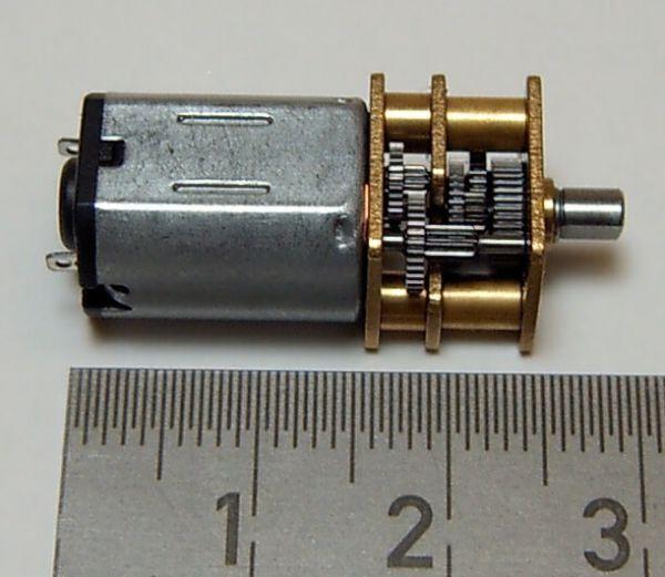 Redüktörlü PGM12L, 298: 1 tıknaz, 4,5V DC