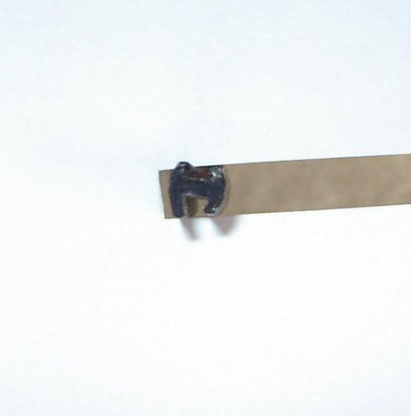 Fensterein- Anayasası, 80cm Mini-H-profil lastik. yabancı