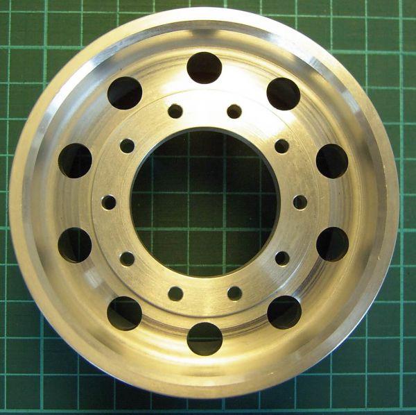 -Aleación ancha rueda agujero redondo, Euro borde 1: 8 (210004)