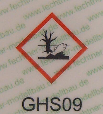 basılı tehlikeli listesi (WDC ölçekli) GHS09 yüksek sesle