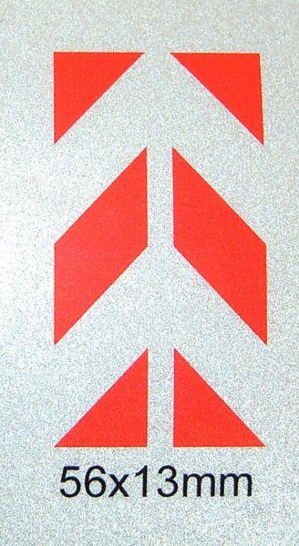 drukowana folia Foliendecal reflex W-3 45 ° skos