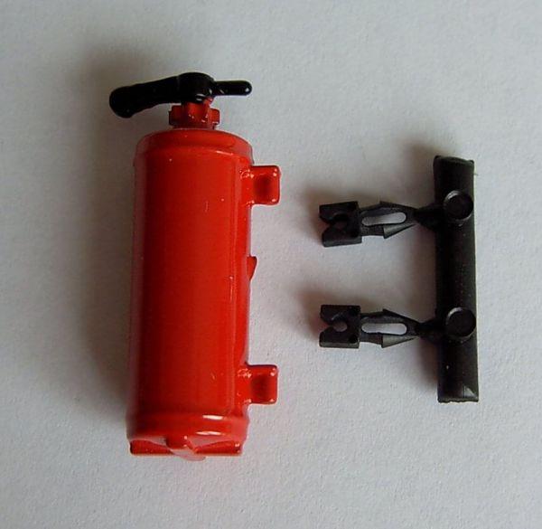 1 gaśnica Uchwyt o 38mm dużej średnicy, czerwonym,