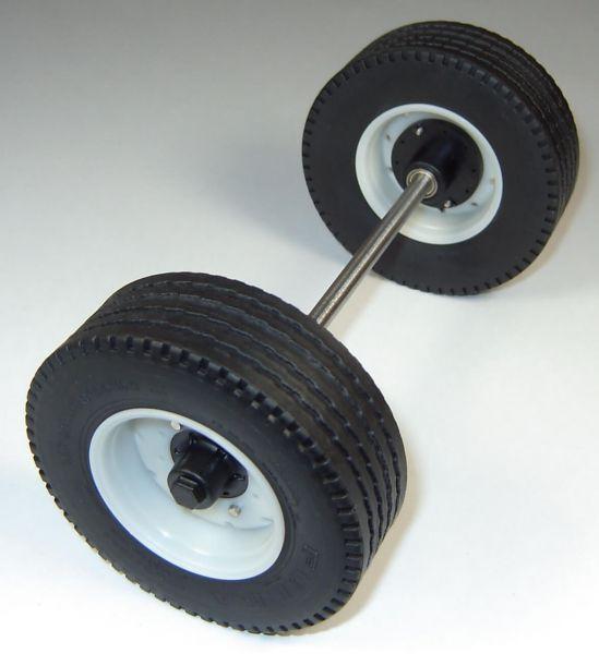 1 completa semirremolque / remolque de eje, la longitud de acero ...