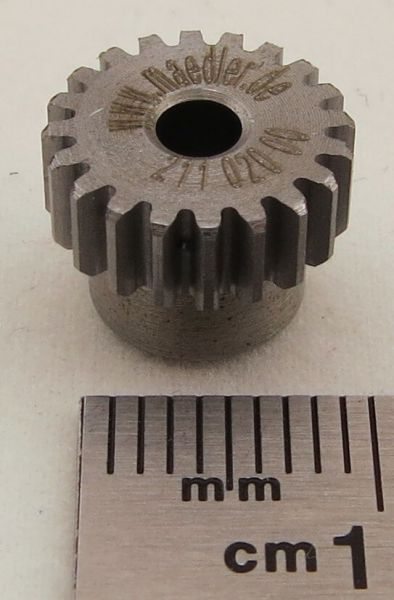 Modulo 0,5 in acciaio 8 Denti ingranaggio Frontale ingranaggio