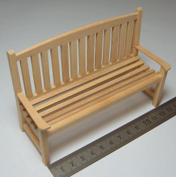Nice 1x havebænk 12,5 cm bred, 80mm høj 50mm dyb. Træ | Bænke | Andre HE66