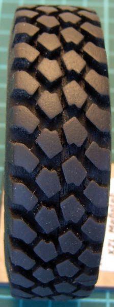 1 lastikleri Michelin 14R20 XZL içi boş 1: TAM Da = Di = 86mm 38mm,