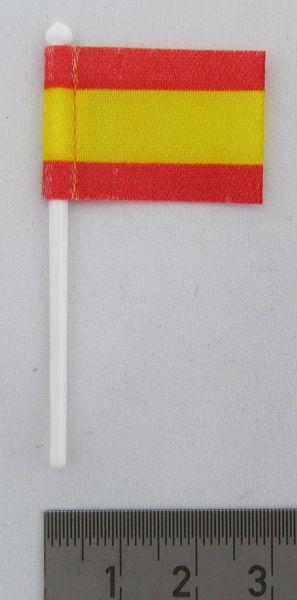 1x flag İspanya, Bayrağın ile kumaştan