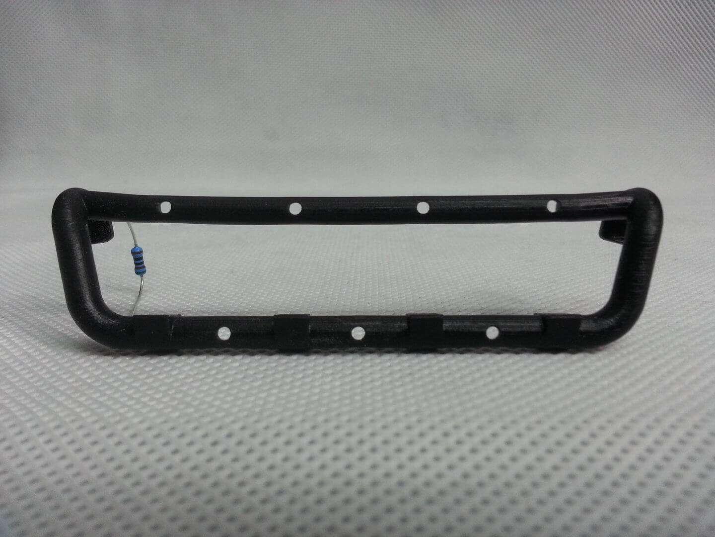 MultiBar Variante2, 7 weiße 1.8mm LEDs inkl. Vorwiderstände ...