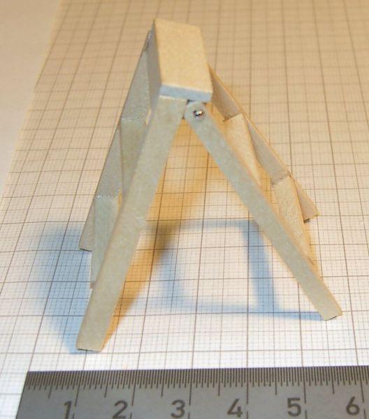 Drewniane drabinki ca.6cm, zawias paznokci