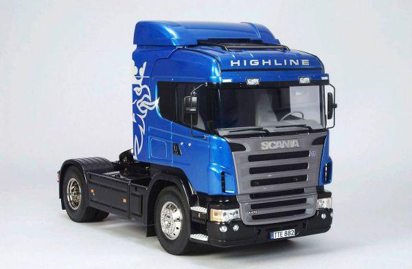Tamiya Scania Highline R470, Kit. 4x2 suspension