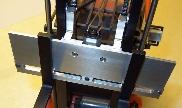 Gabelverstellung elektrisch, 1 Stück. Kompletter Anbausatz