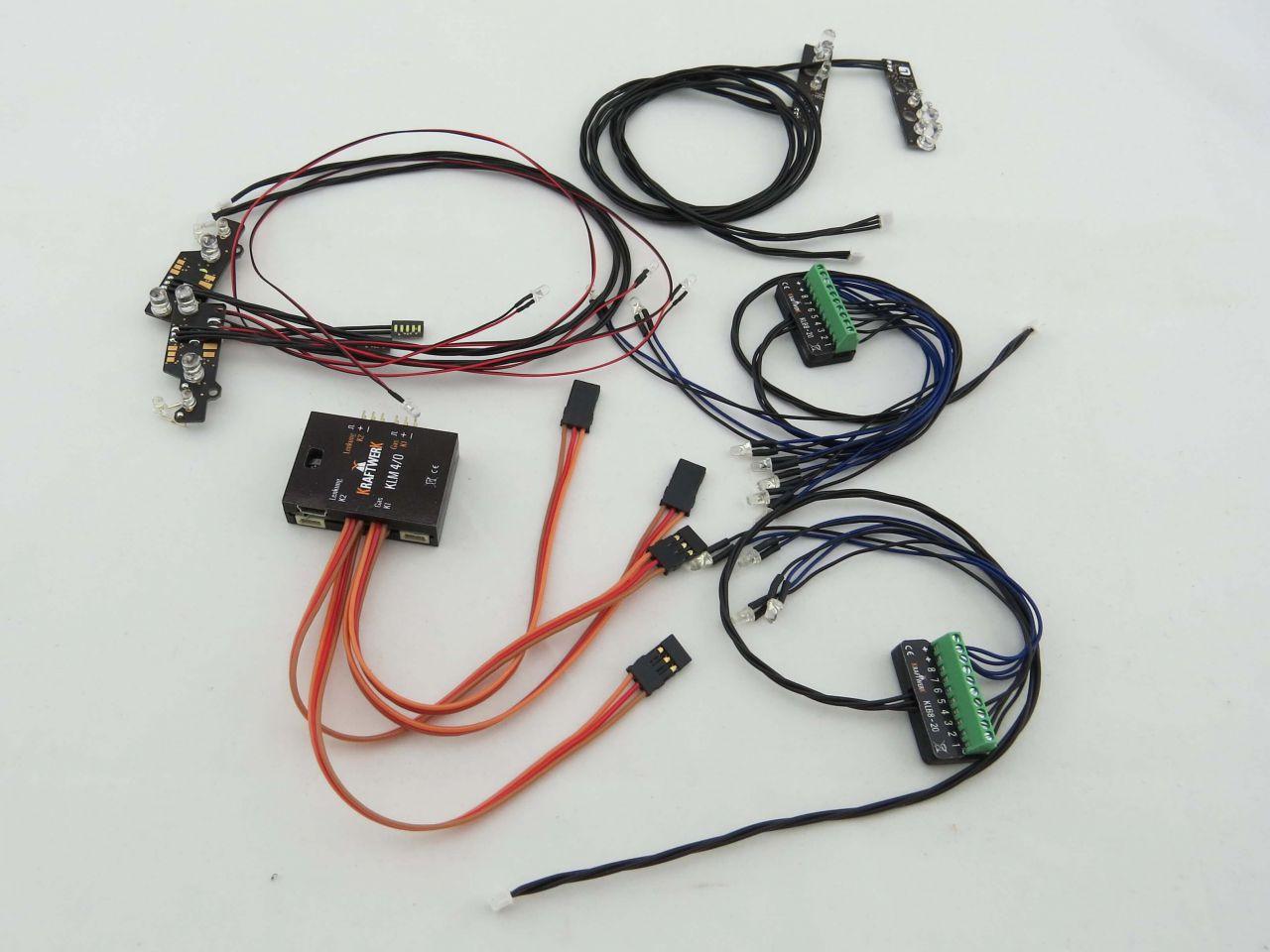 EasyBus Lichtanlage TAMIYA MB Actros 3363 Gigaspace + Seiten ...