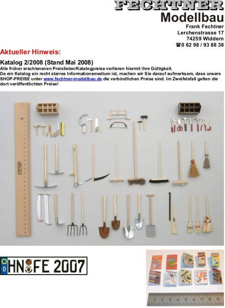 Modellbau-Katalog, farbig gedruckt, aktuelle Ausgabe, ca