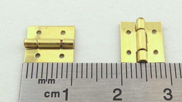 Zawias (mosiądz) 9x10mm 5 sztukę. 7809 / 03