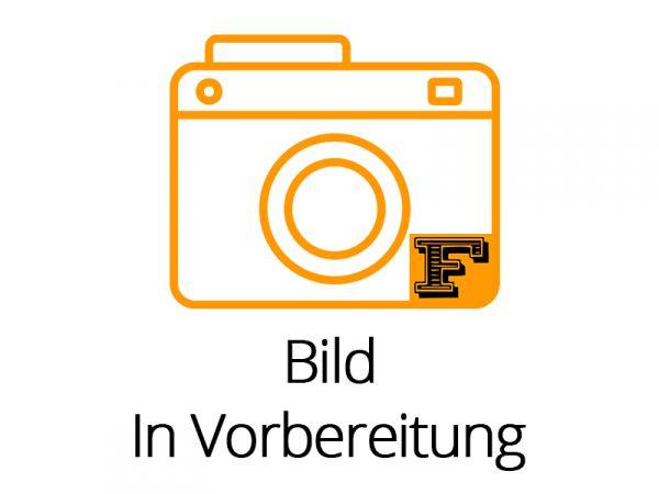 Auflieger/Anhänger-Achse aus V2A. Ausgelegt für Breitreifen