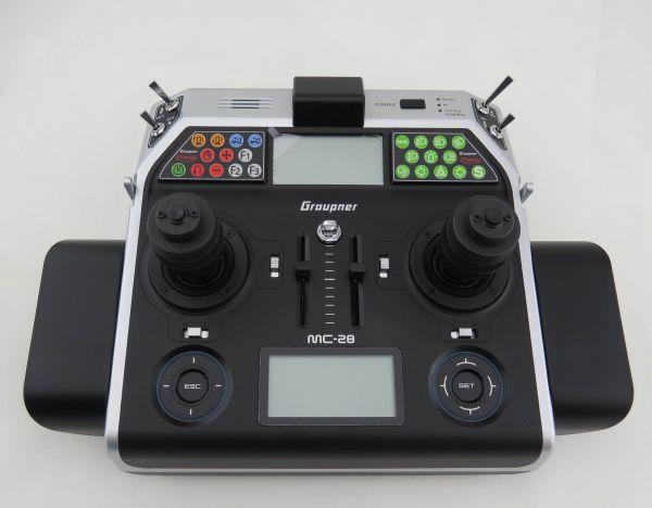 MC-28HoTT Computer-Fernsteuersender 16-Kanal, Kingpads