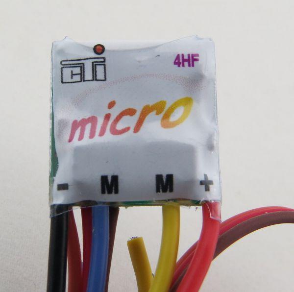 Fahrregler THOR 4-HF Titan Micro, für 7,2V. 100% vorwärts