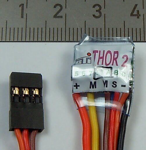 Electrónica de control THOR 2 / 10-xxx para 12V de eléctrica
