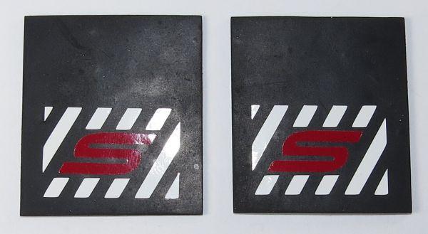 1 çifti çamurluk 50 x 40mm (Y x G) ile özelleştirilmiş