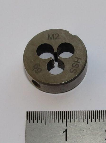 1x Schneideisen DIN 223B HSS M2. 16mm Außendurchmesser