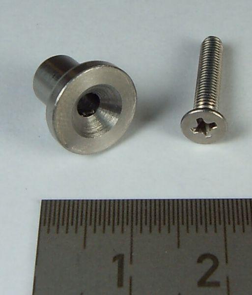 1 Kingpin Tamiya boyutu. V2A (paslanmaz çelik) itibaren, ile