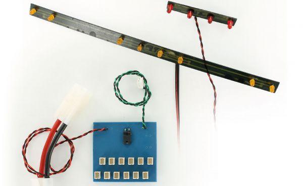 1x Büyük Hauler (8 4 +) ön ve arka için kiti LED