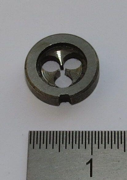 1x Schneideisen DIN 223B HSS M1. 12mm Außendurchmesser