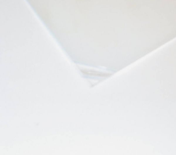 Polyester plate clear 2,0mm thick ca.194 x 320 mm
