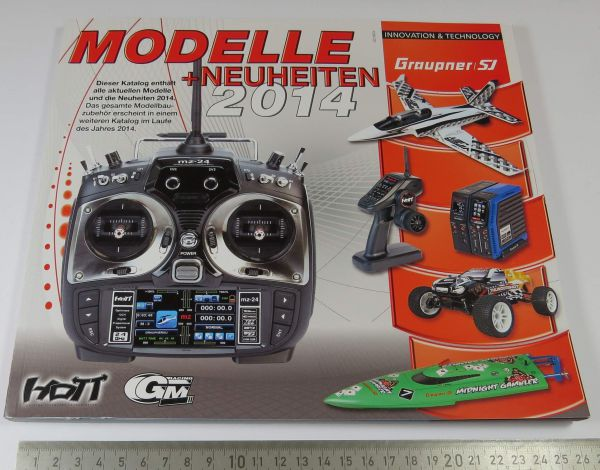 1 Modellbau RC-Katalog, GRAUPNER, farbig gedruckt, aktuelle