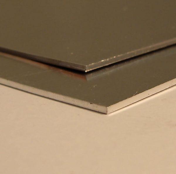Alublech halbhart 0,6mm 400x200mm AL99,5